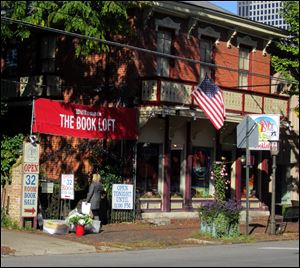 The Book Loft in Columbus' German Village is a crazy quilt of 32 overstuffed rooms, packed with bargain books and posters, CDs, and DVDs.