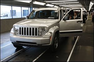 Chrysler built the Jeep Liberty in Toledo from 2001 to 2012. The recall affects 2002-07 Libertys  and 1993-2005 Grand Cherokees.