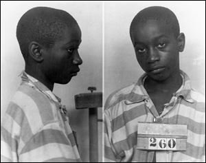 George Stinney Jr., the youngest person ever executed in South Carolina, in 1944.
