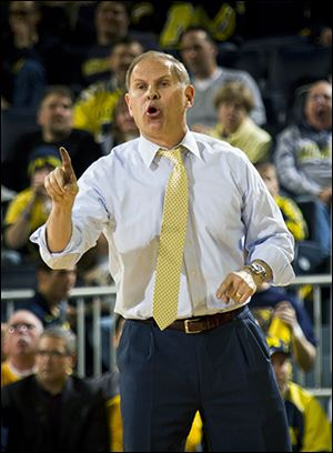 Michigan head coach John Beilein has his Wolverines undefeated in play Big Ten so far this season.