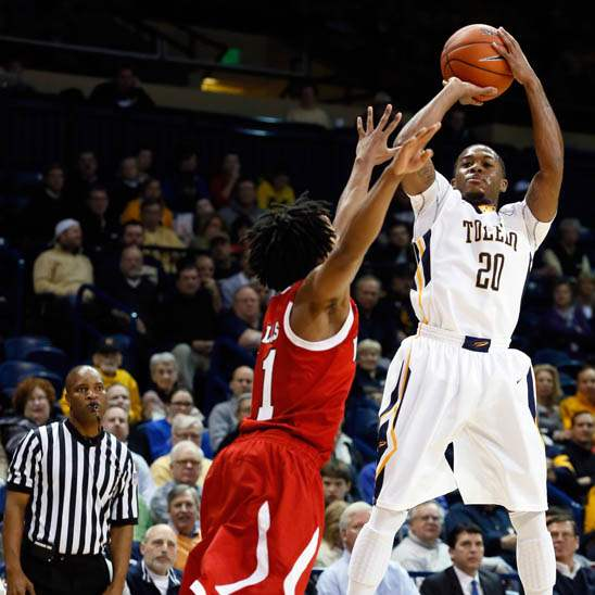 University-of-Toledo-guard-Julius-Brown-4-shoots-a