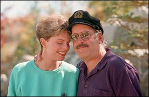 Toni Tennille, left, and Daryl Dragon, the singing duo The Captain and Tennille, have filed for a divorce.