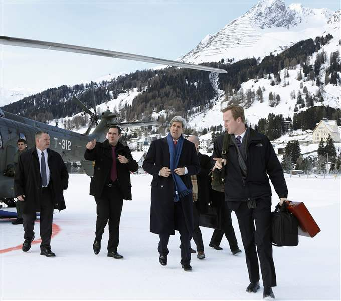 Switzerland-Davos-Forum-Kerry