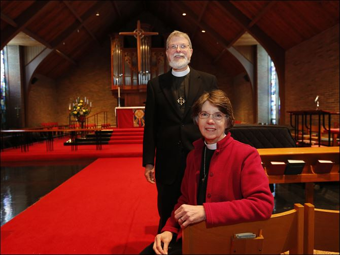 REL sammons25 The Rev. Margaret Hoit Sammons and her husband, the Rev. Gregory P. Sammons, co-rectors at St. Michael's in the Hills Episcopal Church in Ottawa Hills, will retire Sunday.