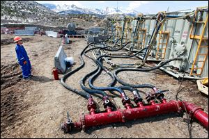 Fracking credited for lower bills