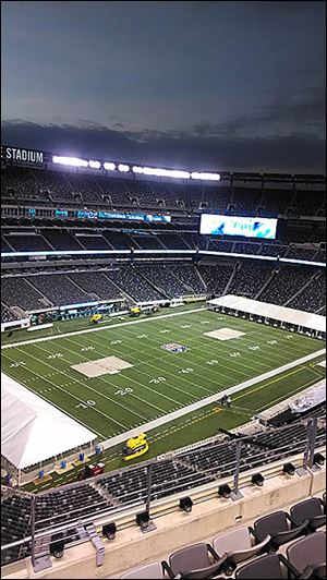 The Denver Broncos and Seattle Seahawks will battle it out Feb. 2 on the turf at MetLife Stadium.