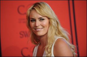 Lindsey Vonn will be working for NBC during the Winter Olympics, although she won't be traveling to Sochi.