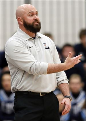 Ryan Bowen is in his fourth season as Lake coach and has a 61-19 record.