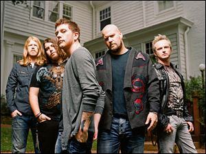 Rock band Saving Abel will headline the Revolverfest event Saturday at Mainstreet.