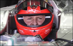 45-year-old Formula One great Michael Schumacher suffered serious head injuries when he fell and hit the right side of his head on a rock in the French resort of Meribel on Dec. 29.