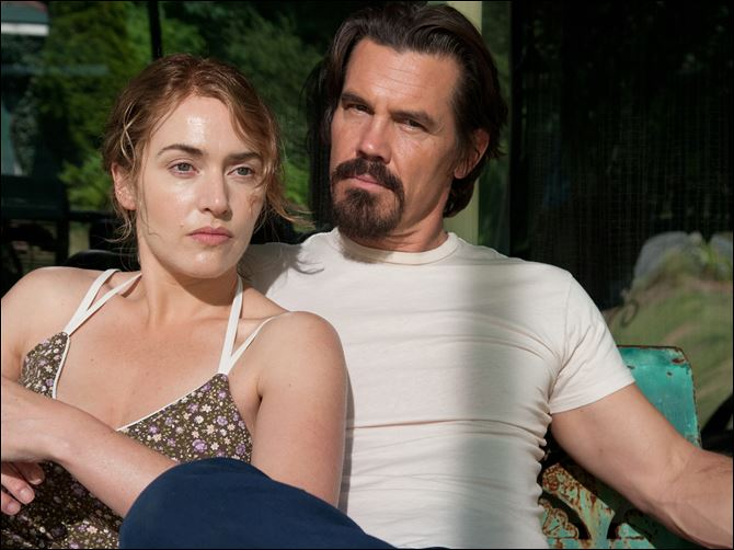 Film Kate Winslet 1-31-2014 Kate Winslet, left, Josh Brolin in a scene from 'Labor Day.'