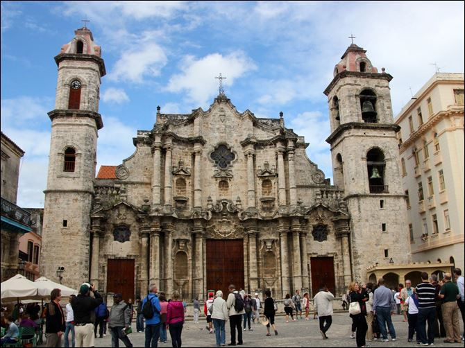 TRAVEL WLT-HAVANA 4 PG Old Havana's Plaza de Cathedral is a can't-miss destination.