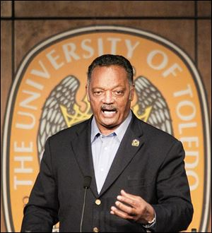 The Rev. Jesse Jackson: Poverty thrives because 'we've stepped away from the war on poverty and extended the subsidy to the wealthy.'