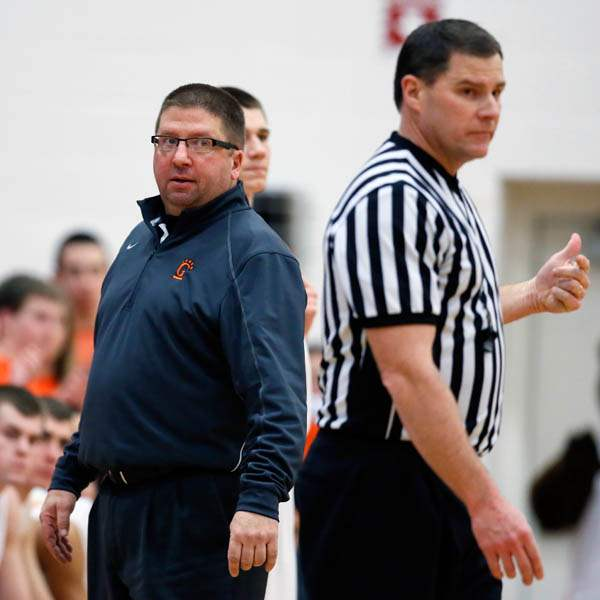 Gibsonburg-head-coach-Brent-Liskai-is-unhappy-with-a-call