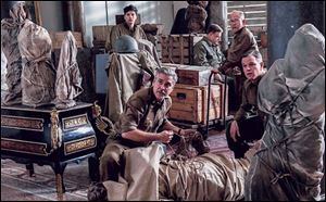 A scene from Columbia Pictures' 'The Monuments Men.'