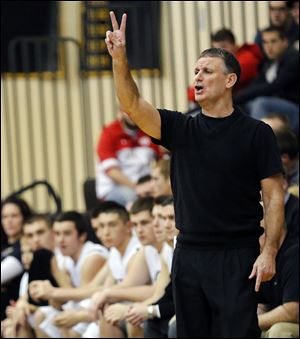 Dave Boyce is in his 14th season as Perrysburg coach. His teams have won seven NLL titles.