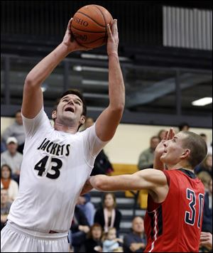 Perrysburg 6-foot-4 senior Nate Patterson averages 12.4 points and 4.9 rebounds. He will play football at Miami (Ohio).