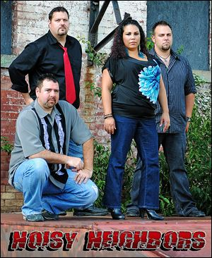 Local cover band Noisy Neighbors will perform Friday at Martini and Nuzzi's.