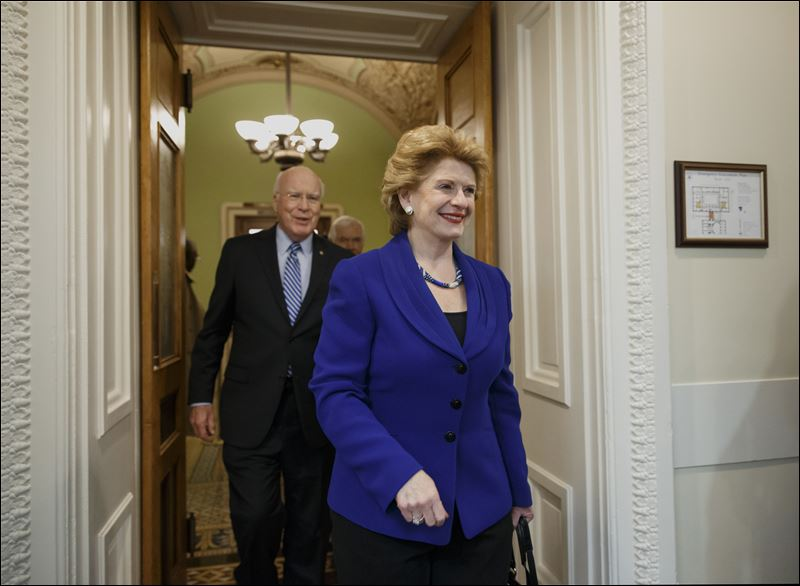 Senate Agriculture Committee Chair Sen. Debbie Stabenow, D-Mich ...