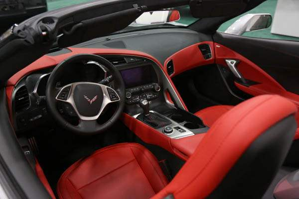 A-2014-Chevrolet-Corvette-replete-with-a-red-interior