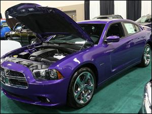 A 2014 Dodge Charger.
