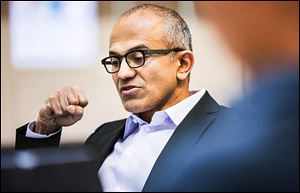 Longtime Microsoft executive Satya Nadella will become one of the world's most influential Indian business leaders when he takes over as chief executive.