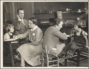 Toledo Hearing and Speech Center staff members test Toledo Public School students in 1938. The center has been a fixture in the community for nearly a century.