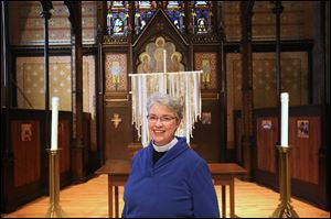 The Rev. Elizabeth Hoster is the Rector at Trinity Episcopal Church in downtown Toledo.
