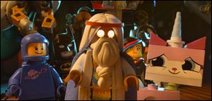 The Lego Movie clicked with moviegoers, assembling an exceptional $69.1 million debut at the weekend box office, according to studio estimates.