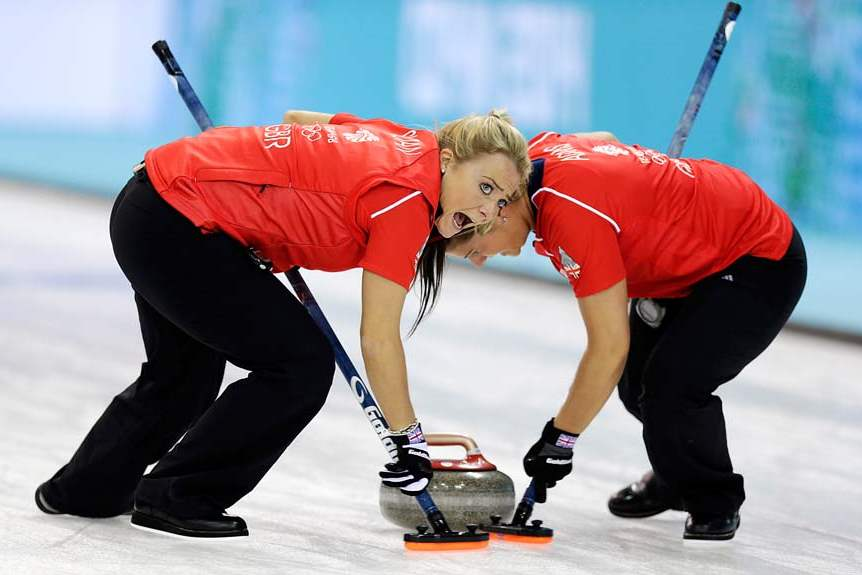 Sochi-Olympics-Curling-Women-GB-VS-US
