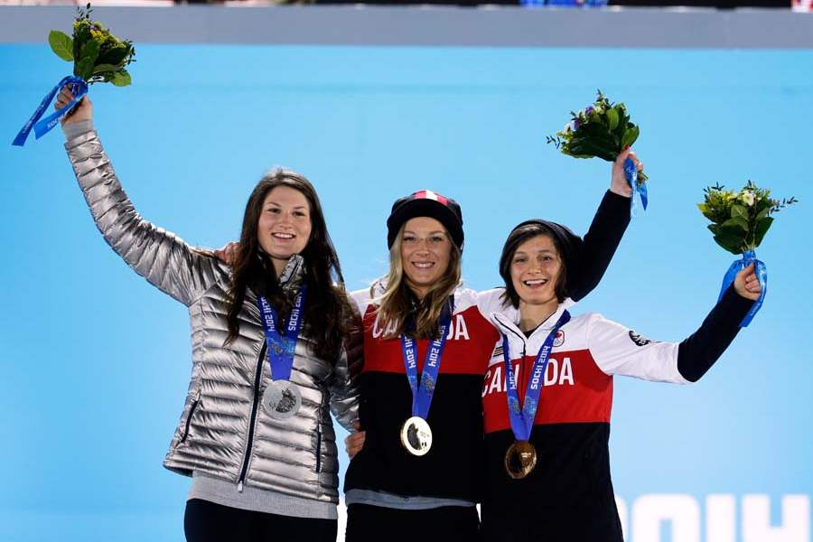 Sochi-Olympics-Medals-Ceremony-Freestyle-Skiing-Women