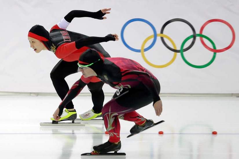 Sochi-Olympics-Speedskating-Women-GERMANY-VS-CHINA