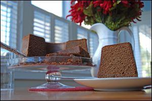 Chocolate Pound Cake is delicious plain or frosted