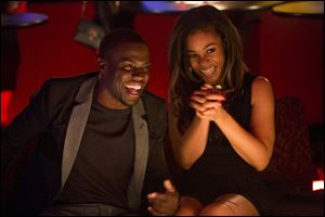 Kevin Hart and Regina Hall in a scene from 'About Last Night.'
