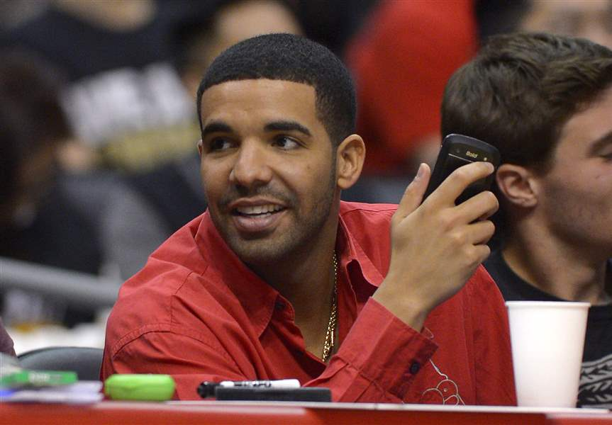 Raptors-Clippers-Basketball-Drake