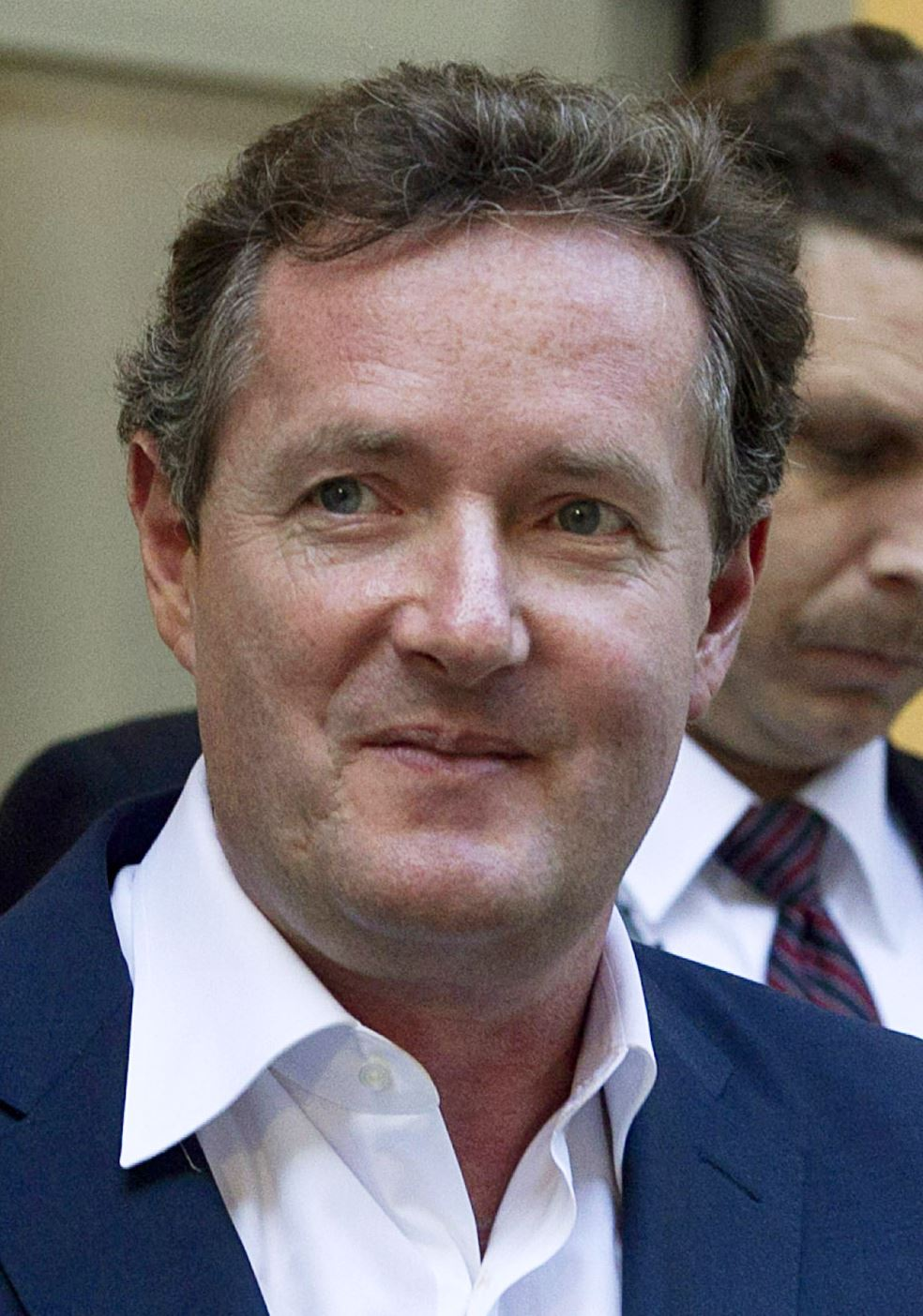 Interviewed By The Tarot: Piers Morgan Interviewed By Police In Hacking Case
