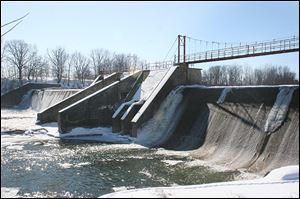 The Ballville Dam was originally built to provide hydroelectric power. A public forum on Wednesday will discuss the future of the 100-year-old dam.