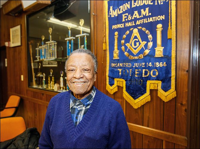 16n1carmen Carmen Williamson, 89, of Toledo's Amazon Lodge can recall when church and lodge were the only places African-American men could socialize.