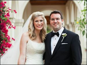Amy Meyers and Matthew Krehbiel of Cincinnati; Married April 20; Ceremony: St. Williams Catholic Church, Naples, Fla.; Reception:  The Royal Poinciana Golf Club, Naples; Parents:  Molly and Geoffrey Meyers of Ottawa HillsJan and Robert Krehbiel III of Cincinnati.