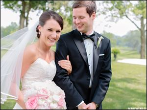 Brenna Hendrix Murtagh and Patrick Murtagh of German Village in Columbus; Married July 27; Ceremony: Inverness Club; Reception: Inverness Club; Parents: Stephanie and Dan Murtagh, Sr., Ottawa Hills and Sue and Dave Hendrix, Sylvania