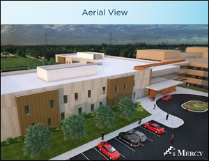 Behavioral Health Center that will be built at St. Charles Hospital.