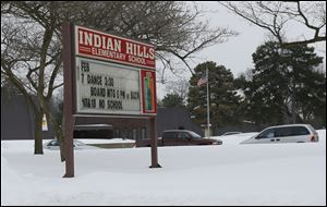 The Rossford Board of Education decided a year ago to shutter Indian Hills at the current school year's end as a cost-cutting move. Students will be transferred to other elementaries and the junior high.