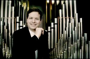 Grammy Award-winning organist Paul Jacobs will perform at the Peristyle.