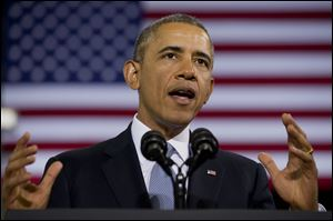 President  Obama delays enforcing the Affordable Care Act's employer mandate.