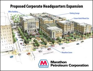 Marathon Petroleum Corporation has decided to embark on a multi-year project to expand and enhance its corporate offices in Findlay.