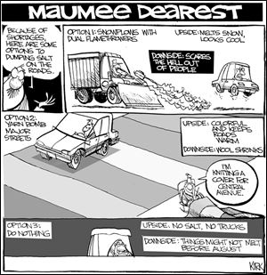 Kirk Walters' Maumee Dearest: Toledo Driving Options