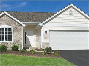 This charming model home offers affordable, low-maintenance living in a quiet, serene setting.