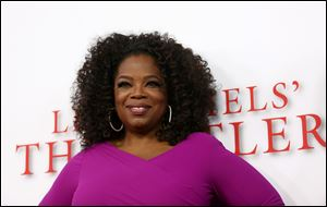 Oprah Winfrey is paying tribute to the late Nelson Mandela tonight at the NAACP Image Awards.