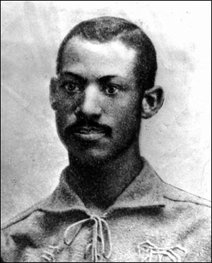 Moses Fleetwood Walker was a catcher who played for the Toledo Blue Stockings in the 1880s.