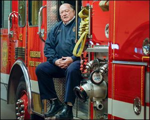 Oregon Fire Chief Ed Ellis, in Fire Station 1, was hired to take over the post as chief in 2010 to deal with a department that was suffering from low morale, Mayor Mike Seferian said.
